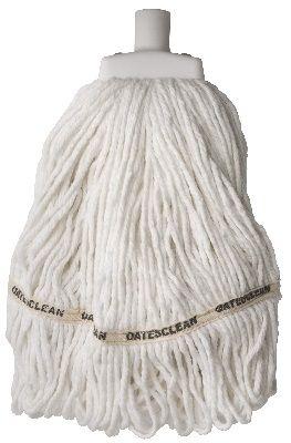 Mop Head D/C Round White