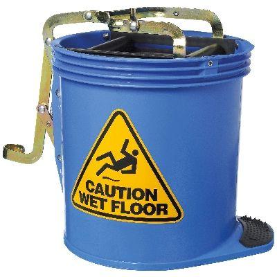 Mop Bucket Wringer - Blue