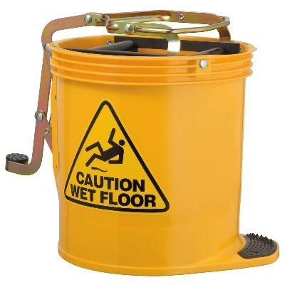 Mop Bucket Wringer - Yellow