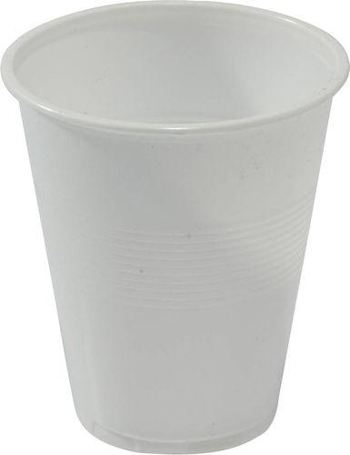 Plastic Cup Wht - 200ml
