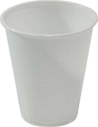 Plastic Cup Wht - Sleeve