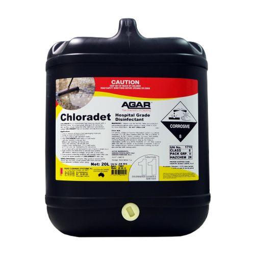 Chloradet - Chlorine Det 20 Lt