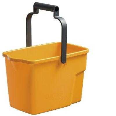 Rectangle Bucket 9 lt - Yellow