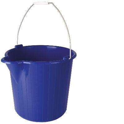 Round Bucket 12 lt - Blue