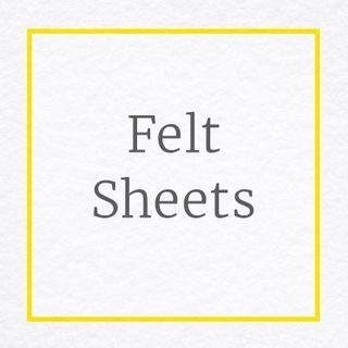 Craft Felt Sheets