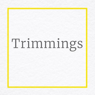 Bead fringe trim, Rhinestone trim, Slung sequences, Stretch sequences Trimmings