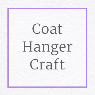 Coat Hanger Craft