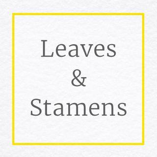 Fabric Velvet Flower Craft Leaves & Stamens