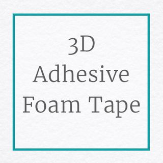 3D Foam Adhesive Tape Small Squares