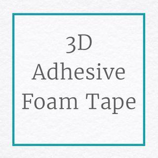 3D Adhesive Foam Tape