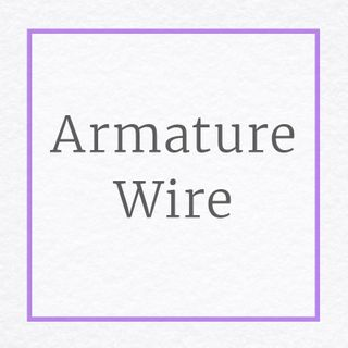 Armature Wire for Stuffed Animals