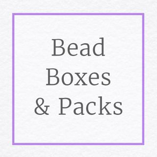 Bead Boxes & Packs