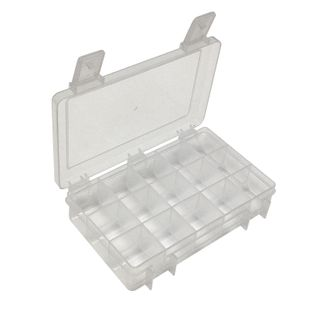 Storage Box Clear 167x115x35mm