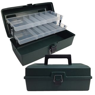 Storage Box Clear 340x170x135mm
