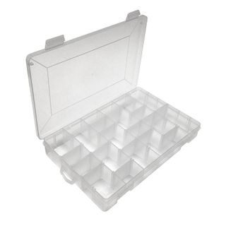 Storage Box Clear 276x180x44.5mm