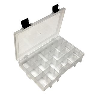 Storage Box Clear 273x176x44.5mm