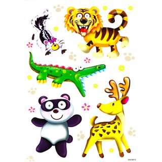 Decals Animals Designs 30 x 21 cm
