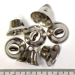 True Bells 20mm Silver Pkt 8
