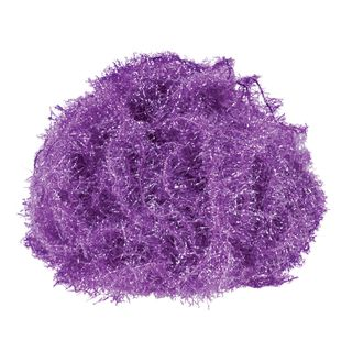 Tinsel Yarn Purple 25m