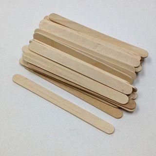 Craft Sticks 114x2mm Natural Pkt 120