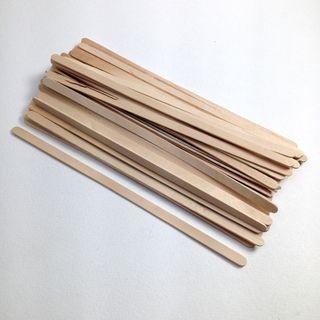 Wooden Spill Sticks 190x5x2mm Pkt 100