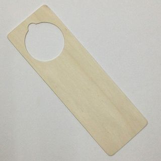 Wooden Door Hanger 230x75x2 Pkt 2