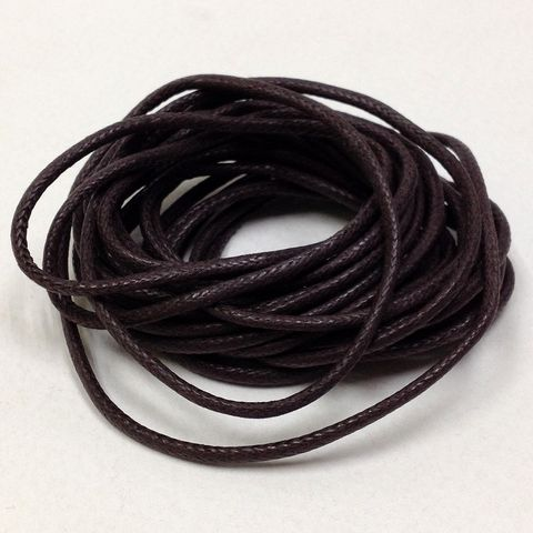 Immitation Leather 1mm Brown 3m