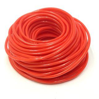 Plastic Tubing 1.6x1.8mm Red 10m