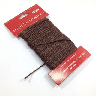 Macrame String Brown 20m