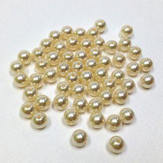 Pearl Beads 10mm Cream 250g