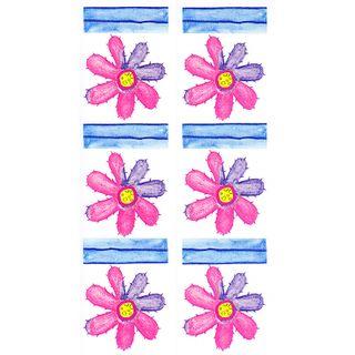 Dec/Borders Pink/Purple Flowers
