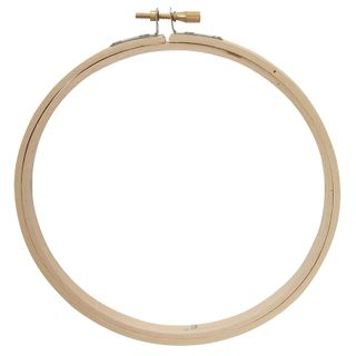 Bamboo Embroidery Hoop Round 125mm