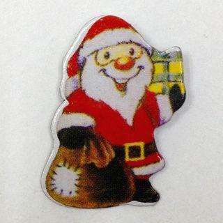 Cardboard Snowman Red Pkt 7