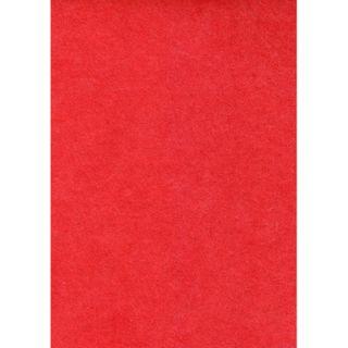 Adhesive Felt Visc/Wool Red Each