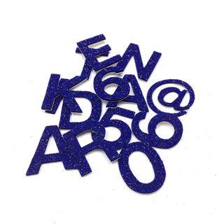 Adh Felt Letters & Num White Small Pkt89
