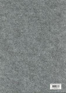 A3 Felt sheet 3mm Thick Grey Mrl each