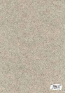 A3 Felt sheet 3mm Thick Mtld Cream ea
