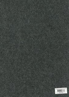A3 Felt sheet 3mm Thick Charcoal  each