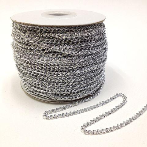 Aluminium Chain 3mm  SI  50mtrs