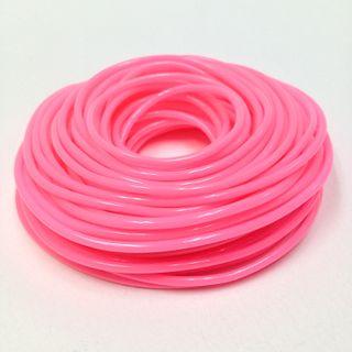 Plastic Tubing 1.6x1.8mm Pink 100m