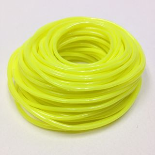 Plastic Tubing 1.6x1.8mm Neon Yel 100m
