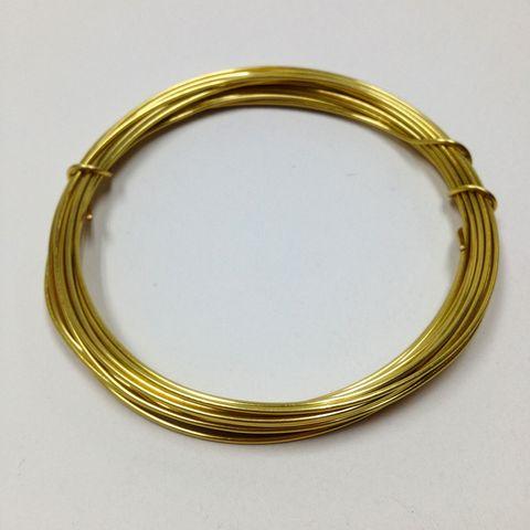 Beading Wire 16ga Champange 2.9m