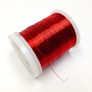 Beading Wire 20ga Red 8.5m