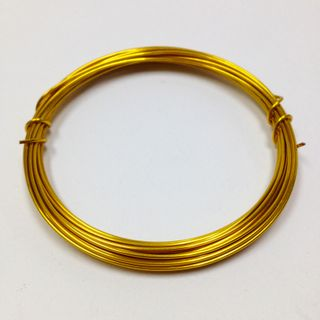 Beading Wire 18ga Gold 3.8m