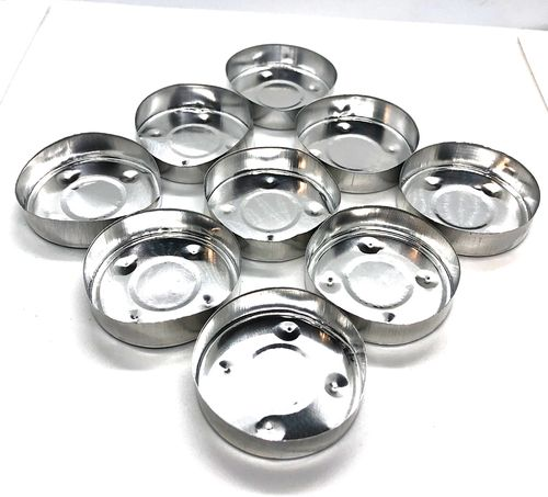 Candle T-Lights Container Small Pkt 9