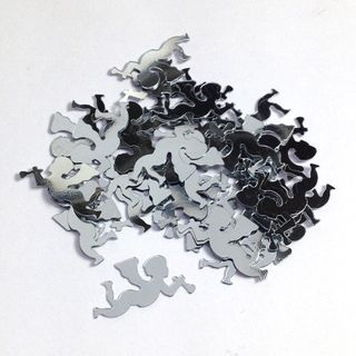 Scatters 15mm Cupid Silver 500g
