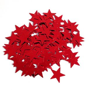 Scatters 17mm Stars Red 500g