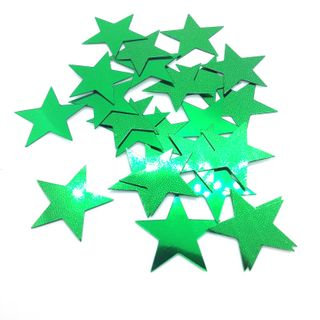 Scatters 17mm Stars Green 500g