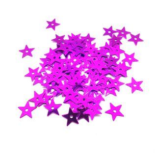 Scatters 10mm Stars Fuchsia 500g