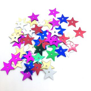 Scatters 10mm Stars Assorted 500g